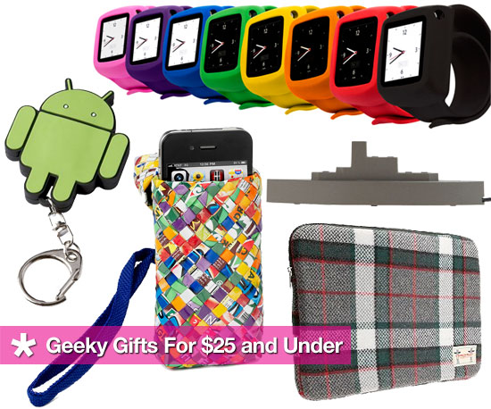 Geeky Gift Ideas For Under $25