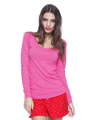 Forever 21 Polka Dot PJ Set ($13)