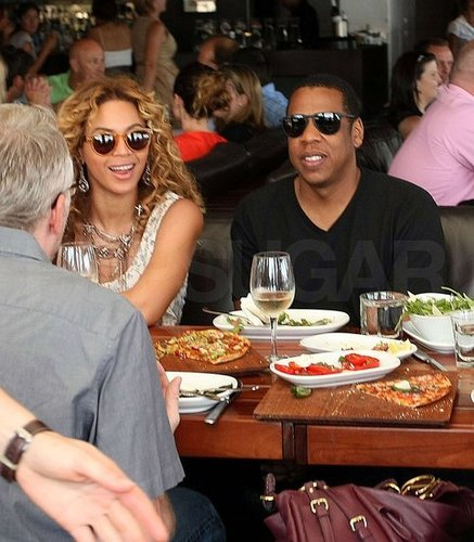 Pictures of Beyonce Knowles and Jay-Z Together Down Under