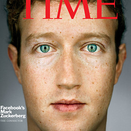 Mark Zuckerberg 2010 Person of the Year