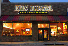 Epic Burger on North Avenue