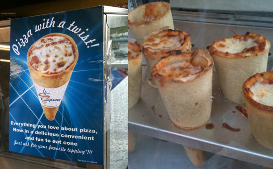 Pizza Cones: Yes