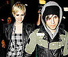 Slide Picture of Ashlee Simpson and Pete Wentz Leaving Dinner in LA