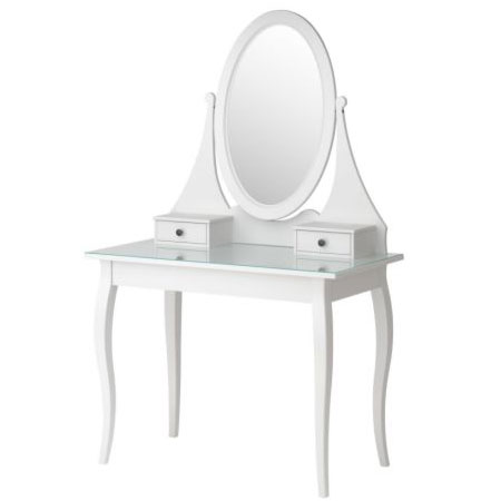 IKEA HEMNES Dressing Table With Mirror ($379)