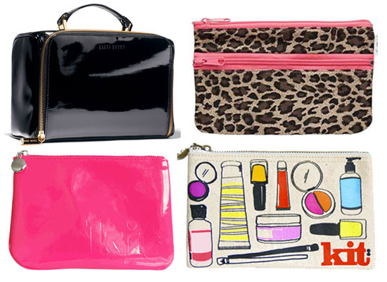 Bella's Xmas Gift Guide: Cute Cosmetics/Makeup Bags!