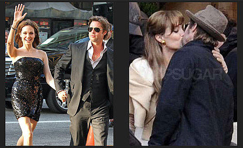 Best Pictures of Brad Pitt and Angelina Jolie of 2010