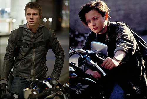 Sam Flynn and John Connor Similarities