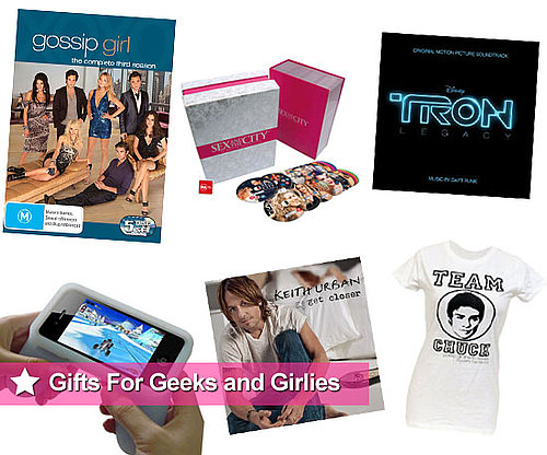 Christmas Entertainment Gift and Present Ideas Including Gossip Girl and Sex and the City Merchandise