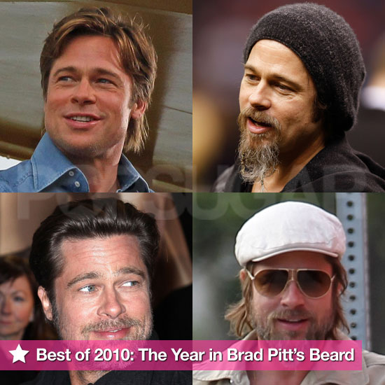 Pictures of Brad Pitt's Beard in 2010