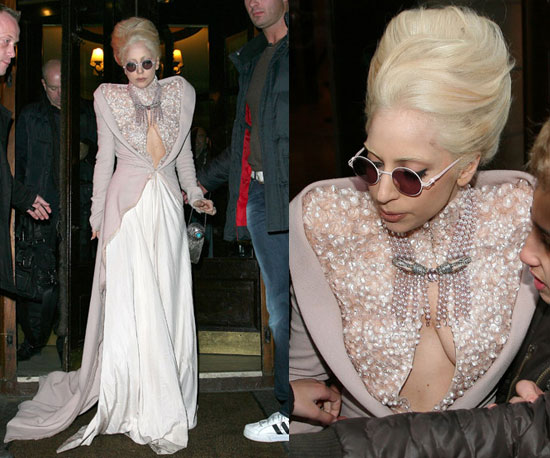 Lady Gaga in Paris