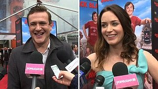 Video of Emily Blunt and Jason Segel Talking About The Muppets Movie