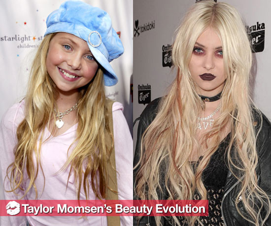 Taylor Momsen&#039;s Hair and Makeup Changes