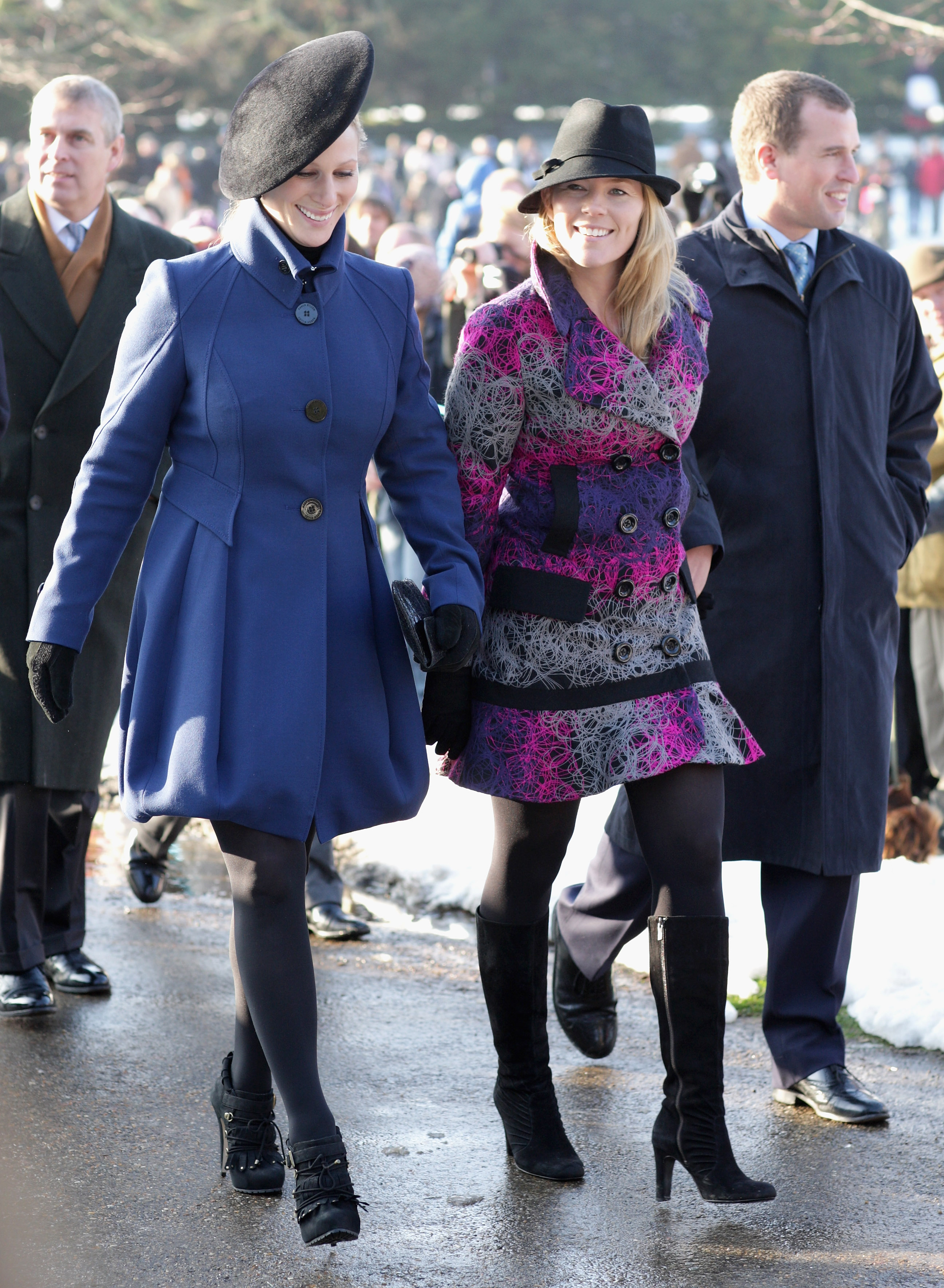 Zara And Her New Sister In Law Autumn Phillips Are All