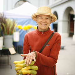 Annie Somerville, a California Pioneer in Meatless Eating, Talks 2011 Vegetarian