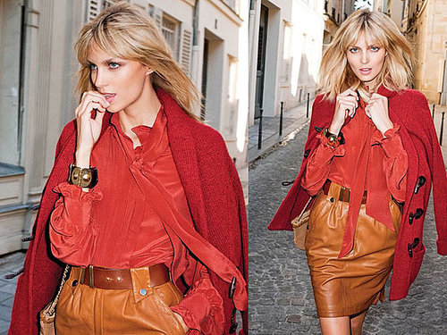 Anja Rubik For Mango Fall/Winter 2010