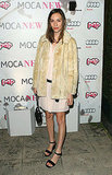 Gia Coppola at MOCA and Pop party.