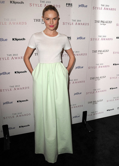 Kate Bosworth in Jil Sander at the Hollywood Style Awards.