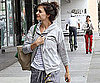 Slide Picture of Katie Holmes Arriving at the Gym in LA 2010-12-23 16:15:00