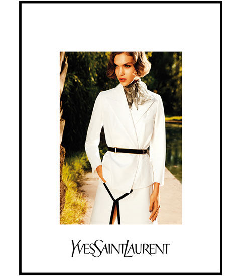 Arizona Muse Fronts YSL's Latest Ad Campaign