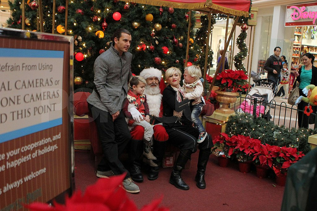 Gwen and Gavin Take Zuma and Kingston to See Santa!