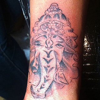 Brandy Tweets Her New Ganesha Tattoo