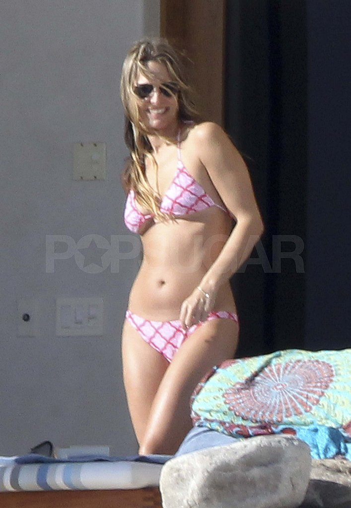 Molly Sims Makes a Splash in Her Tiny Two-Piece