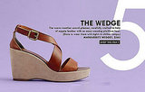 Walkable wedges ($165) to wear with our socks or '70s style flares.
