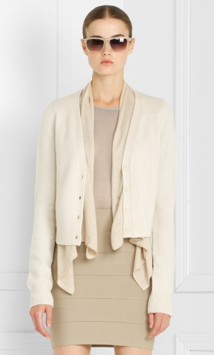 Draped Detail Cardigan ($80, originally $198)