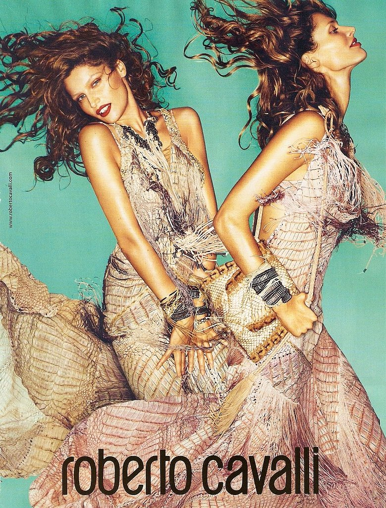 Laetitia Casta, Malgosia Bela for Roberto Cavalli, by Mert Alas and Marcus Piggott