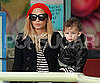 Slide Picture of Nicole Richie With Sparrow in LA
