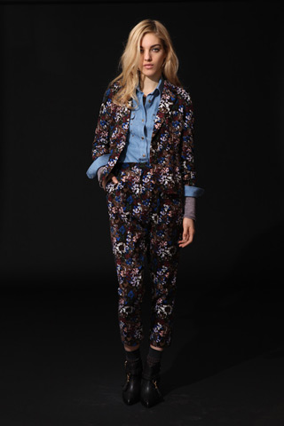 Would You Wear United Bamboo's Pre-Fall 2011 Floral Print Suit?