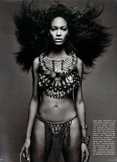 Shot by Patrick Demarchelier for German Vogue.