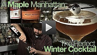 320 Main's Maple Manhattan Recipe