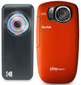 Kodak Playfull and PlaySport