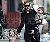 Slide Picture of Sarah Jessica Parker With Twins Marion and Loretta Broderick