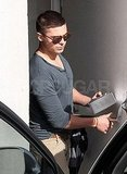 Zac Efron Spotted Leaving Ex Vanessa's House in LA