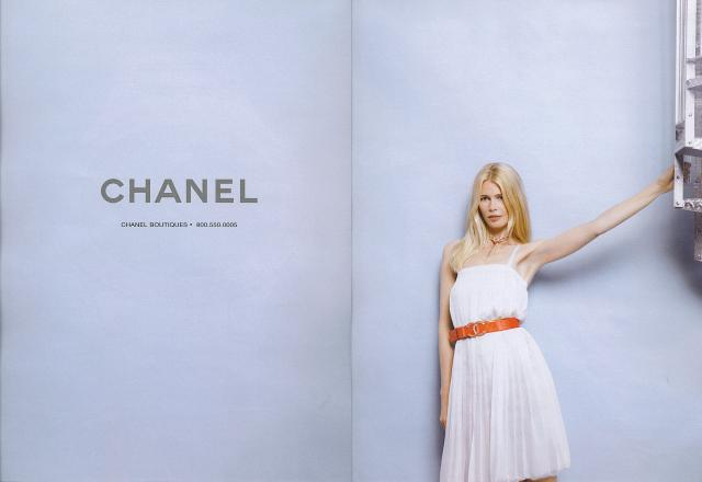 Claudia Schiffer might not come as a huge surprise, but what is a surprise is that this ad campaign from resort 2007 came 20 years after she first appeared in a Chanel ad. Has she aged at all?