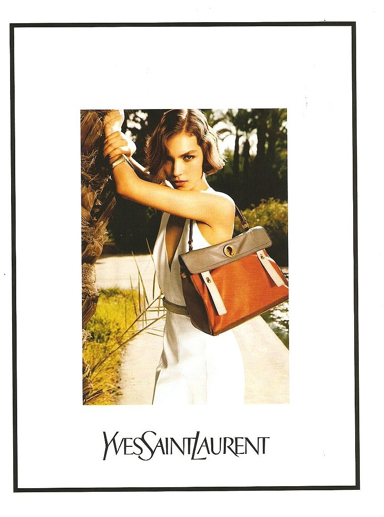 Arizona Muse for Yves Saint Laurent, by Inez van Lamsweerde and Vinoodh Matadin