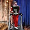 Jim Carrey Gives Interview on a Treadmill on Late Night With Jimmy Fallon