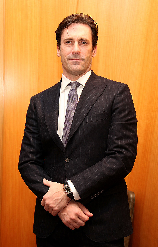 Jon Hamm Has the Time of His Life at a Watch Party