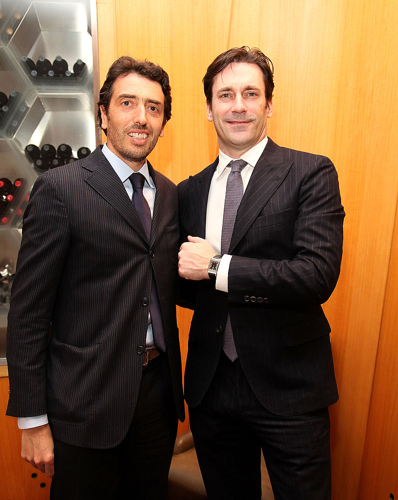 Pictures of Mad Men's Jon Hamm at a Jaeger-LeCoultre Lunch