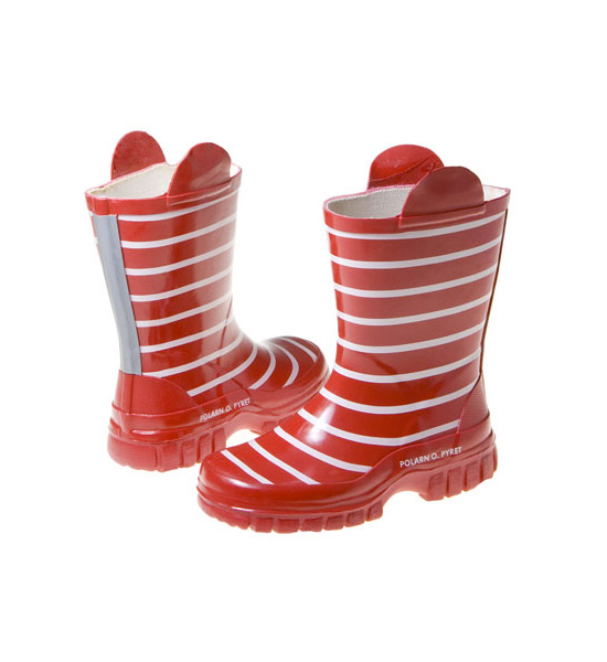 Sailor-Striped Boots