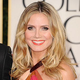 Heidi Klum at 2011 Golden Globes