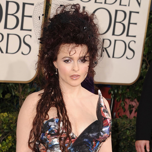 Helena Bonham Carter at 2011 Golden Globes