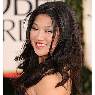 Jenna Ushkowitz at 2011 Golden Globes