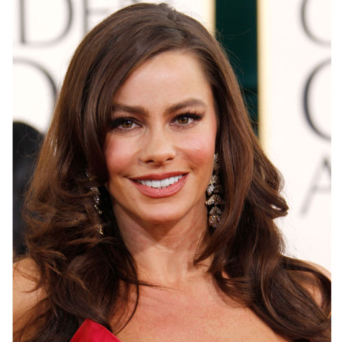 Sofia Vergara at Golden Globes 2011