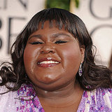 Gabourey Sidibe at 2011 Golden Globes 2011-01-16 15:25:05
