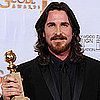 Christian Bale Wins the Golden Globe For Best Supporting Actor in a Movie 2011-01-16 17:08:24