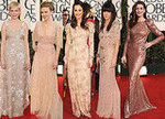 All the Ladies, Dresses and Gowns on the 2011 Golden Globes Awards Red Carpet