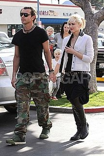 Pictures of Gwen Stefani and Gavin Rossdale With Kingston and Zuma at Chucky Cheese